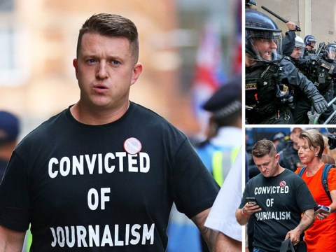 Tommy Robinson jailed for nine months for contempt of court