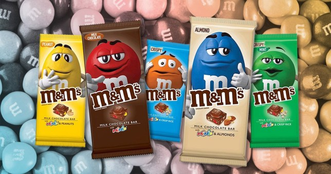 The M&M bars