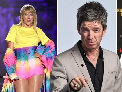 Noel Gallagher slams Taylor Swift and Scooter Braun's feud as he brands them both 'American idiots'