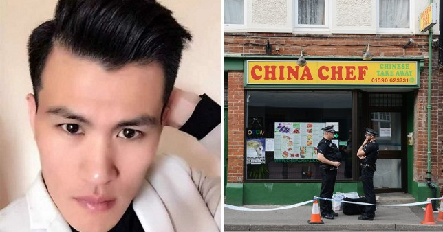 Xiu Bin Wang, 33, was found in his room above the China Chef takeaway