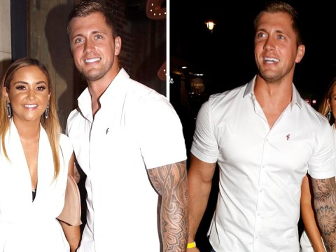 Jacqueline Jossa and Dan Osborne go matching in white for romantic night out