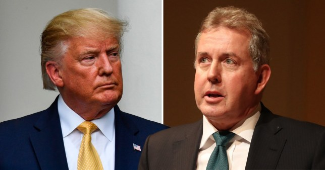 Sir Kim Darroch was critical of Donald Trump's administration (Picture: PA)