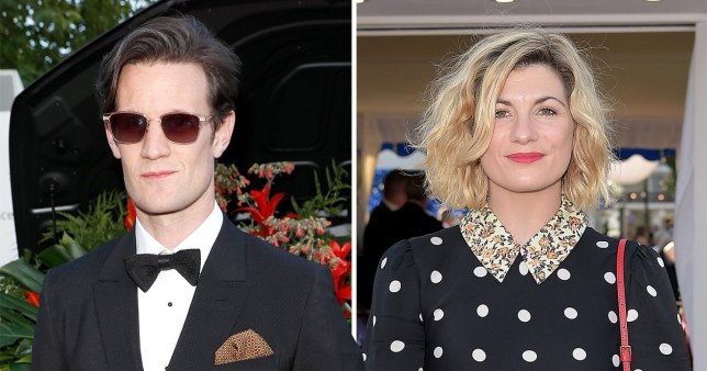 Matt Smith and Jodie Whittaker