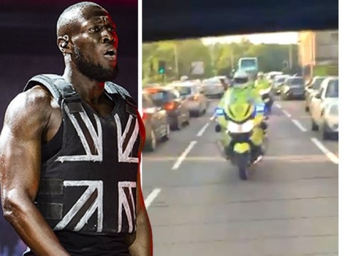 Stormzy calls himself the Queen as he loses it over police escort: 'Your man's going up in the world'