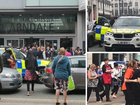 Gun scare at Manchester shopping centre 'done deliberately to cause panic'