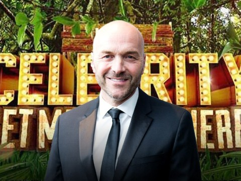 Sunday Brunch star Simon Rimmer throws his hat in the ring for I'm A Celebrity as he swears never to do Dancing On Ice