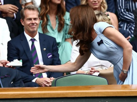 Prince Louis gets signed Stan Smith trainers as Kate watches men's Wimbledon final