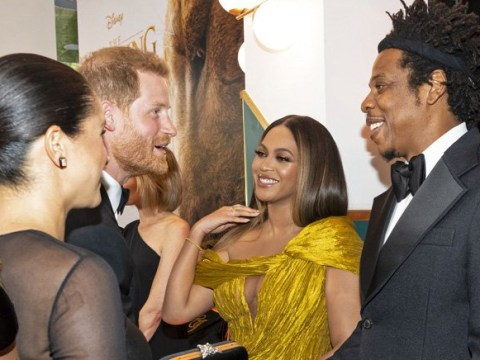 What Beyoncé and Meghan Markle really talked about at Lion King revealed