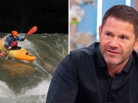Steve Backshall recalls drowning during near-death kayak experience for new TV show