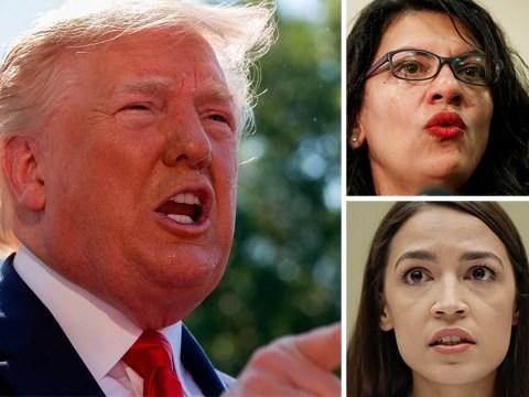 Trump doubles down over 'racist' Twitter row about congresswomen