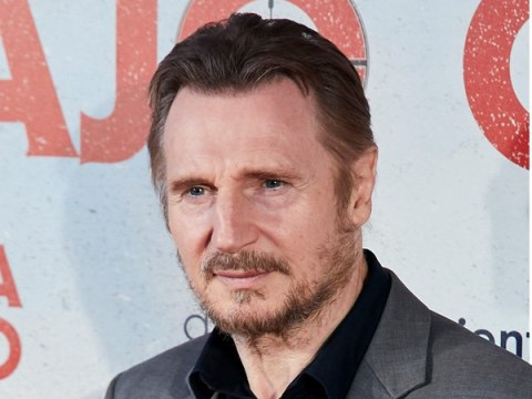 Liam Neeson looks suave at Cold Pursuit premiere months after racism row axed red carpet