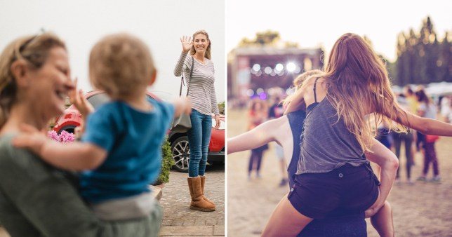 These parents are looking for a festival nanny