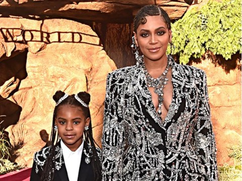 Beyonce's daughter Blue Ivy is on The Lion King soundtrack as album cover revealed