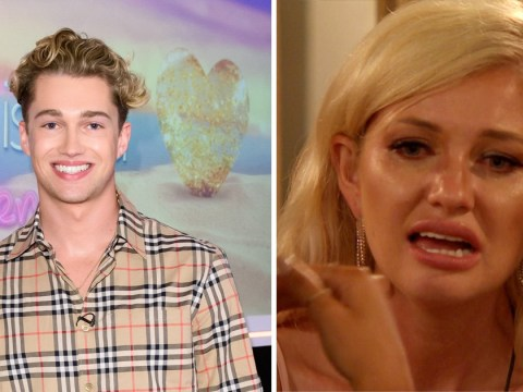 Love Island: AJ Pritchard insists Amy Hart chose to watch brutal Curtis Aftersun clip on live TV as fans slam 'cruel' bosses