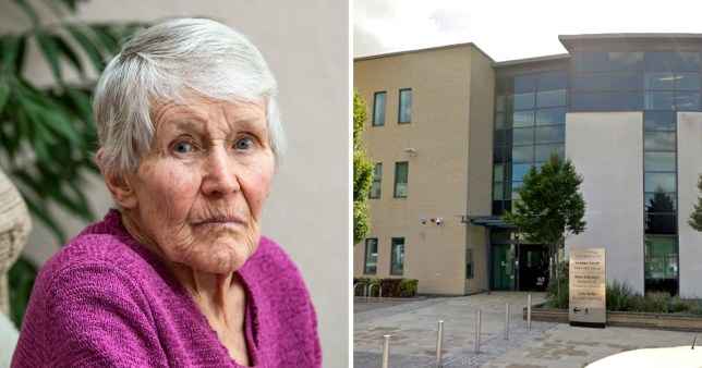 Mary Morley was stripped of her life savings by Huntingdonshire District Council