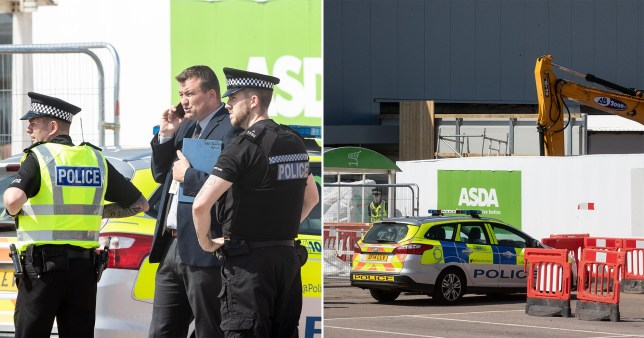 The 58-year-old died after an accident at the Peterhead store today