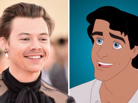 Harry Styles talks Prince Eric in The Little Mermaid