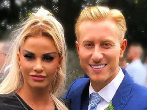 Katie Price trolls fans with Mr and Mrs Boyson plaque – but she's not married