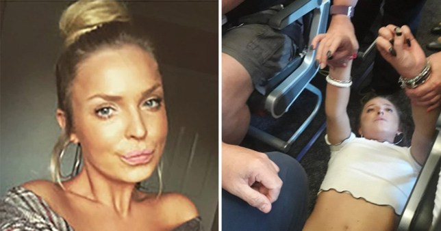 Couple who restrained Jet2 passenger Chloe Haines demand payout from airline