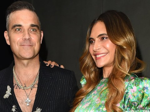Ayda Field puts on brave face with Robbie Williams amid mum's heartbreaking Parkinson's battle