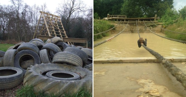 A boy, 14, has died while taking part in a mud assault course