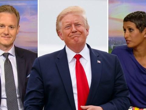 Dan Walker jumps to BBC Breakfast co-star Naga Munchetty's defense over Trump rant as she's accused of bias