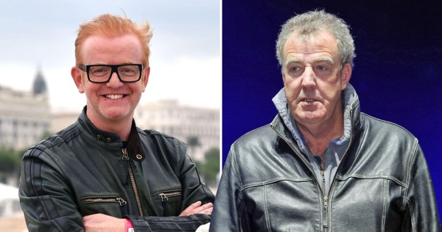 Chris Evans and Jeremy Clarkson on Top Gear