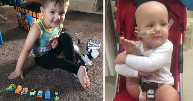 Maxi Richards' parents agreed to the procedure to save his life (Picture: Kennedy News and Media)