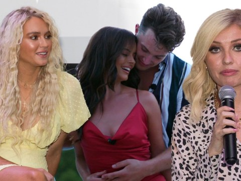 Love Island's Lucie Donlan doesn't hold back as she tells Amy Hart that Maura Higgins deserves Curtis Pritchard
