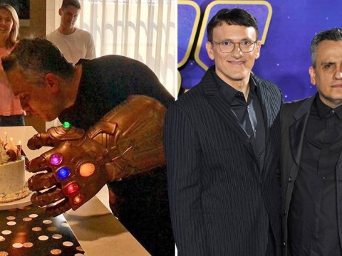 Avengers: Endgame director Joe Russo channels inner Mad Titan as he sports Thanos gauntlet for birthday