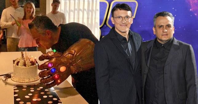 Avengers: Endgame director Joe Russo celebrates birthday twice with massive Thanos gauntlet