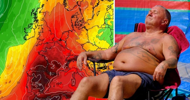 Temperatures are set to soar across Europe next week