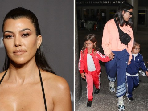 Kourtney Kardashian hated her kids' school meals and single-use plastic so went big boss on school