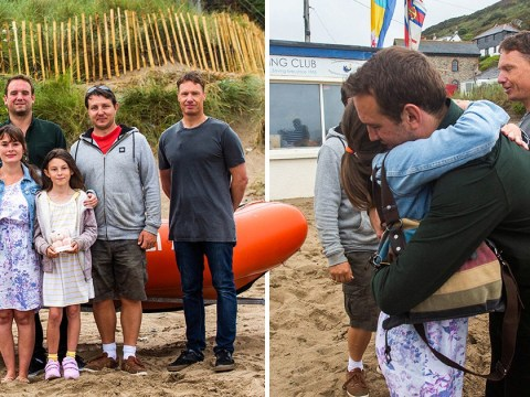 Lifeguards who saved drowning pregnant mum meet her baby 10 years later