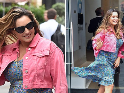 Kelly Brook has Marilyn moment after revealing Leonardo DiCaprio made her cancel flight to party