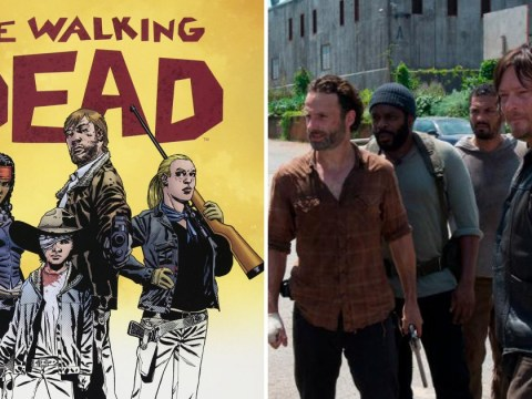 The Walking Dead TV series won't end just because the comic book has