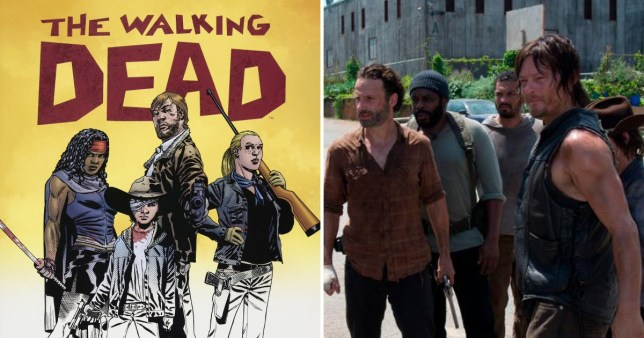 TWD won't end because comics have