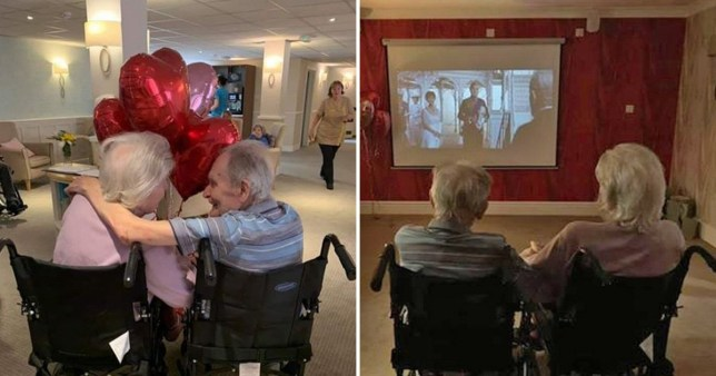 Terminally ill man is granted his dying wish and is reunited with wife