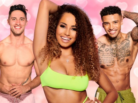 Who did Amber pick in the recoupling on Love Island last night?