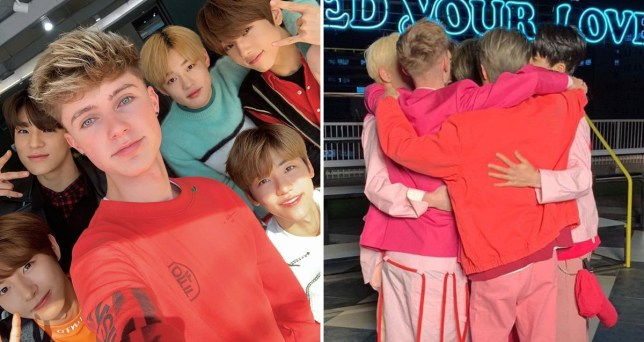 HRVY and NCT Dream