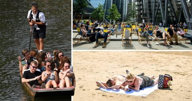 UK will be hotter than Ibiza next week as summer holidays begin