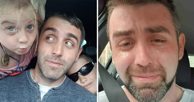 Dad's crying selfie moments before suicide after being left with just £4.61