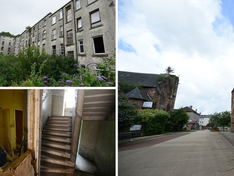 Inside eerie ghost town in Scotland where all but 20 people have moved out
