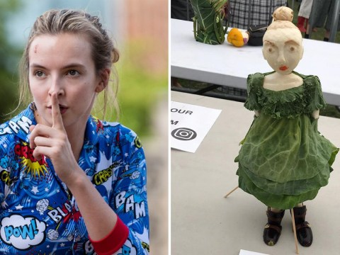 Killing Eve's Jodie Comer made out of vegetables is the best thing you'll see today