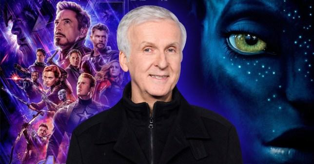 James Cameron congratulates Marvel