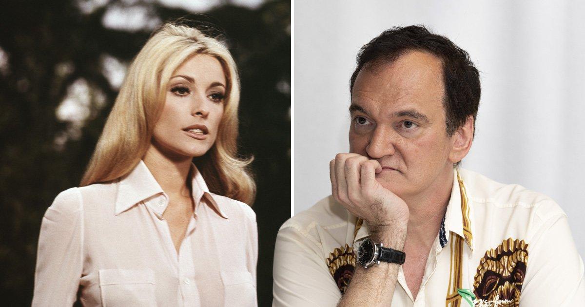 Sharon Tate and Quentin Tarantino