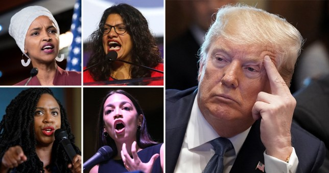 Trump has repeatedly defended his words directed at the four Congresswomen