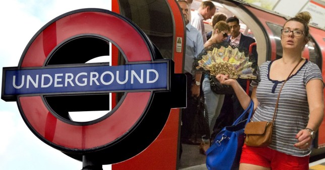 What are the hottest Tube lines? (Picture: PA)
