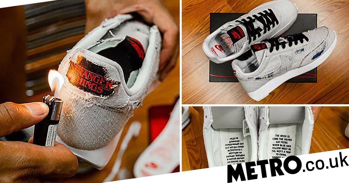 Burn the new Stranger Things x Nike