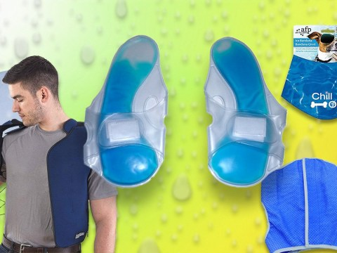 Amazon is selling freezer slippers and other unlikely body cooling items